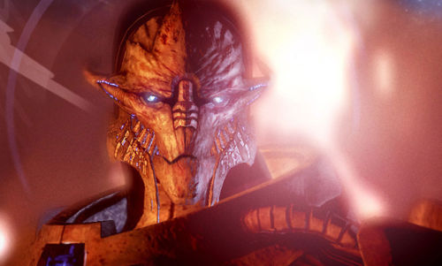 Side note, Saren and the Geth would be an AWESOME Mass Effect themed band.